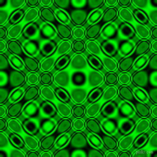 , Black and Lime cellular plasma seamless tileable