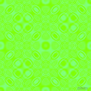 Chartreuse and Mint Green cellular plasma seamless tileable