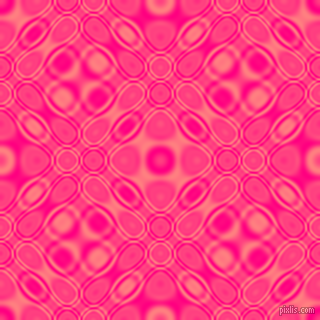 , Deep Pink and Salmon cellular plasma seamless tileable