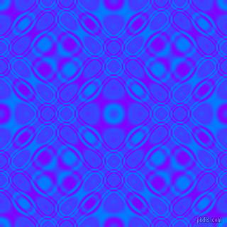 , Dodger Blue and Electric Indigo cellular plasma seamless tileable