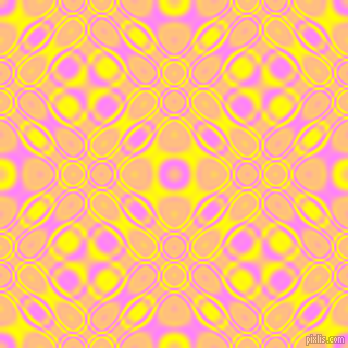 , Fuchsia Pink and Yellow cellular plasma seamless tileable