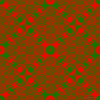 Green and Red cellular plasma seamless tileable