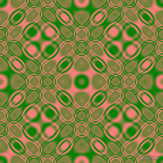 Green and Salmon cellular plasma seamless tileable