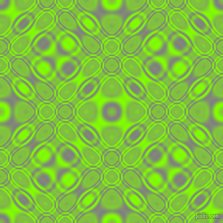 , Grey and Chartreuse cellular plasma seamless tileable