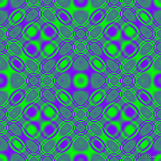 Lime and Electric Indigo cellular plasma seamless tileable