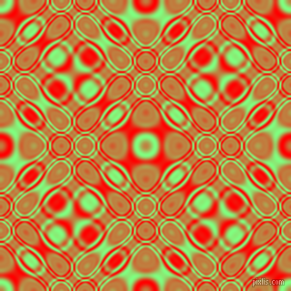 Mint Green and Red cellular plasma seamless tileable