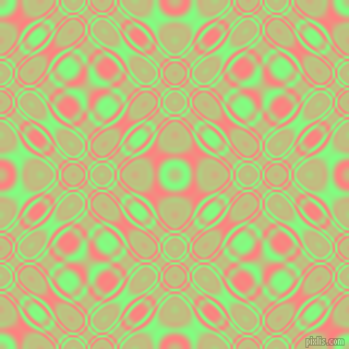 , Mint Green and Salmon cellular plasma seamless tileable