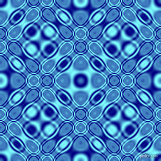 Navy and Electric Blue cellular plasma seamless tileable