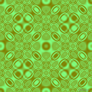 , Olive and Mint Green cellular plasma seamless tileable