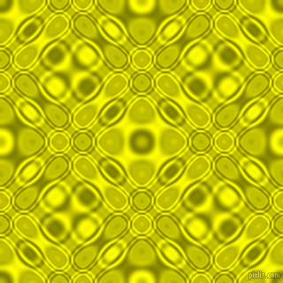Olive and Yellow cellular plasma seamless tileable