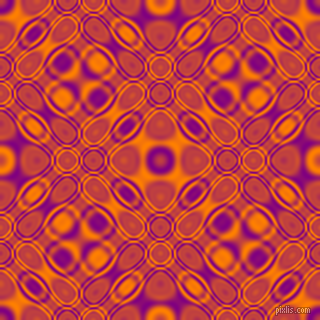 , Purple and Dark Orange cellular plasma seamless tileable
