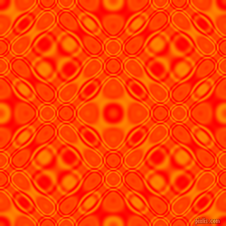 , Red and Dark Orange cellular plasma seamless tileable