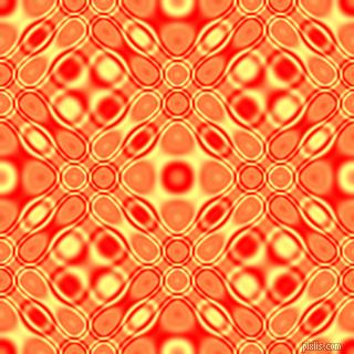 Red and Witch Haze cellular plasma seamless tileable