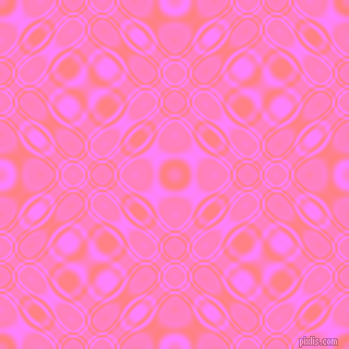 , Salmon and Fuchsia Pink cellular plasma seamless tileable