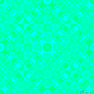 , Spring Green and Aqua cellular plasma seamless tileable