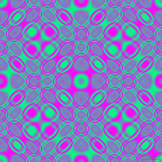 , Spring Green and Magenta cellular plasma seamless tileable