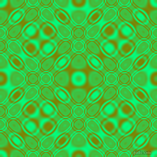 Spring Green and Olive cellular plasma seamless tileable