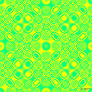 Spring Green and Yellow cellular plasma seamless tileable