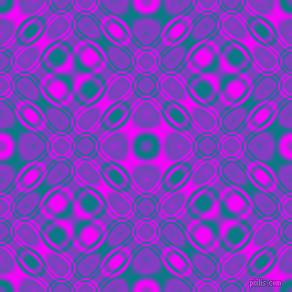 , Teal and Magenta cellular plasma seamless tileable