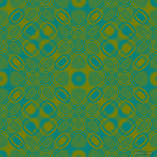 , Teal and Olive cellular plasma seamless tileable