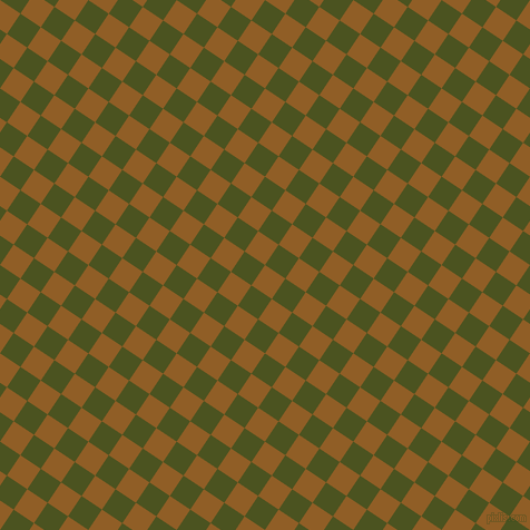 56/146 degree angle diagonal checkered chequered squares checker pattern checkers background, 22 pixel squares size, , Afghan Tan and Army green checkers chequered checkered squares seamless tileable