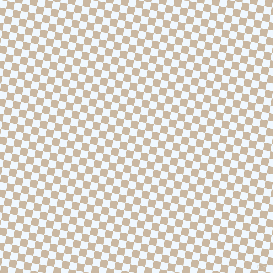 81/171 degree angle diagonal checkered chequered squares checker pattern checkers background, 26 pixel square size, , Alice Blue and Grain Brown checkers chequered checkered squares seamless tileable