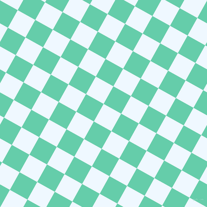 61/151 degree angle diagonal checkered chequered squares checker pattern checkers background, 68 pixel square size, , Alice Blue and Medium Aquamarine checkers chequered checkered squares seamless tileable