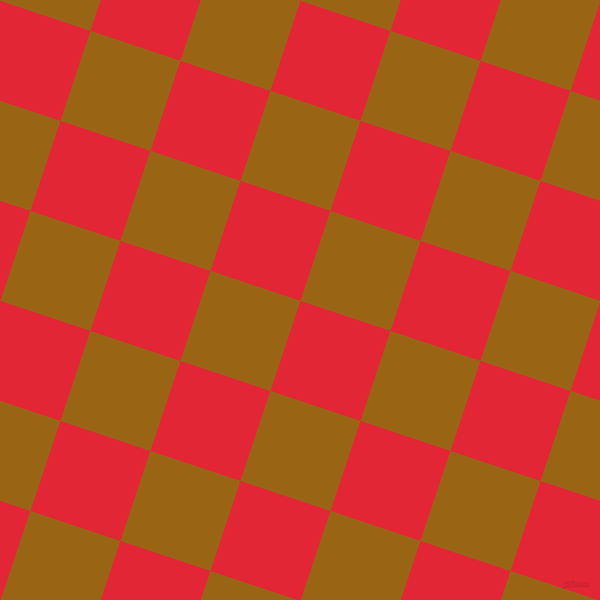 72/162 degree angle diagonal checkered chequered squares checker pattern checkers background, 133 pixel square size, , Alizarin and Golden Brown checkers chequered checkered squares seamless tileable