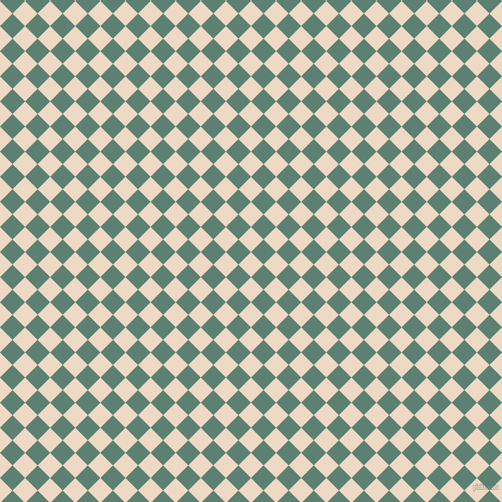 45/135 degree angle diagonal checkered chequered squares checker pattern checkers background, 25 pixel square size, , Almond and Cutty Sark checkers chequered checkered squares seamless tileable