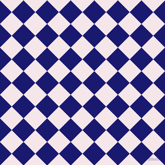 45/135 degree angle diagonal checkered chequered squares checker pattern checkers background, 55 pixel square size, , Amour and Midnight Blue checkers chequered checkered squares seamless tileable