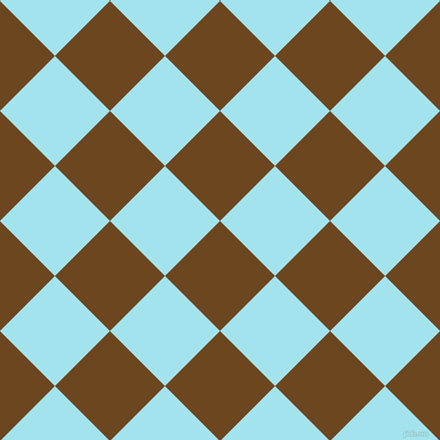 45/135 degree angle diagonal checkered chequered squares checker pattern checkers background, 113 pixel squares size, , Antique Brass and Blizzard Blue checkers chequered checkered squares seamless tileable