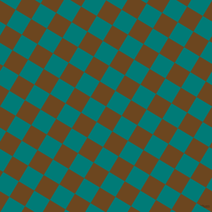 59/149 degree angle diagonal checkered chequered squares checker pattern checkers background, 61 pixel squares size, Antique Brass and Surfie Green checkers chequered checkered squares seamless tileable