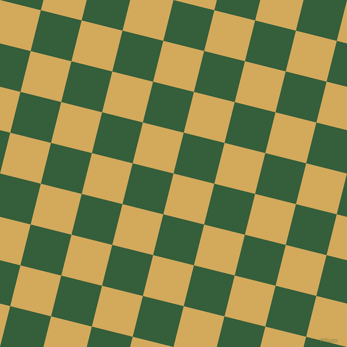 76/166 degree angle diagonal checkered chequered squares checker pattern checkers background, 85 pixel square size, , Apache and Hunter Green checkers chequered checkered squares seamless tileable