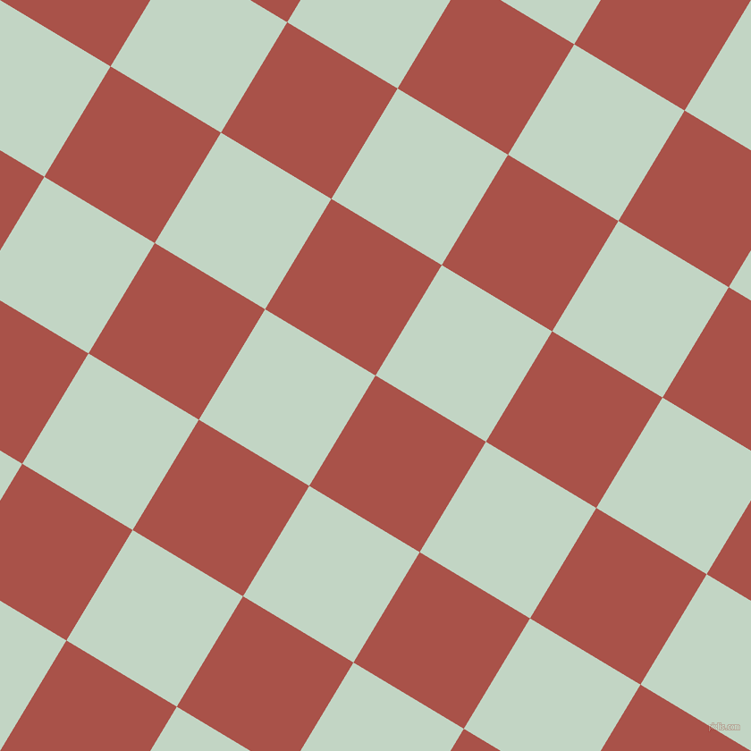 59/149 degree angle diagonal checkered chequered squares checker pattern checkers background, 144 pixel squares size, , Apple Blossom and Sea Mist checkers chequered checkered squares seamless tileable
