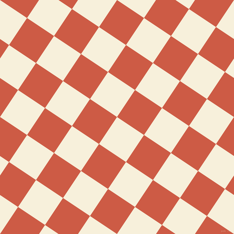 56/146 degree angle diagonal checkered chequered squares checker pattern checkers background, 108 pixel square size, , Apricot White and Dark Coral checkers chequered checkered squares seamless tileable