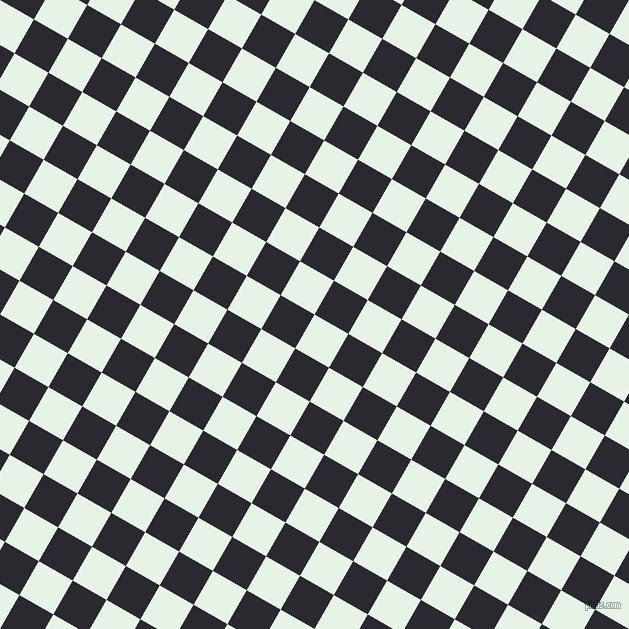 60/150 degree angle diagonal checkered chequered squares checker pattern checkers background, 39 pixel square size, , Aqua Spring and Jaguar checkers chequered checkered squares seamless tileable