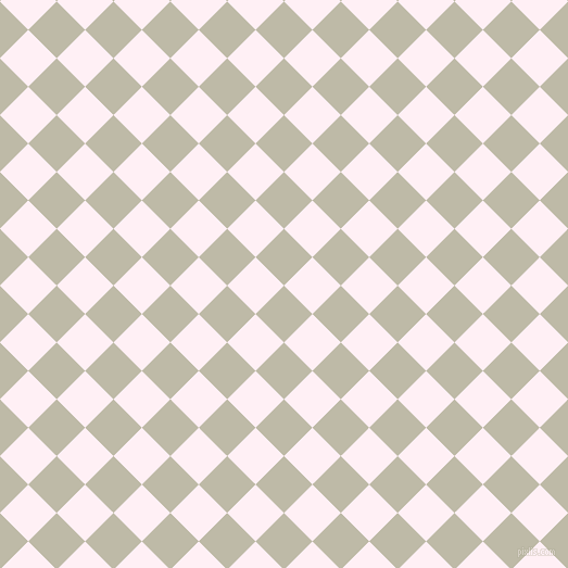 45/135 degree angle diagonal checkered chequered squares checker pattern checkers background, 37 pixel square size, , Ash and Lavender Blush checkers chequered checkered squares seamless tileable