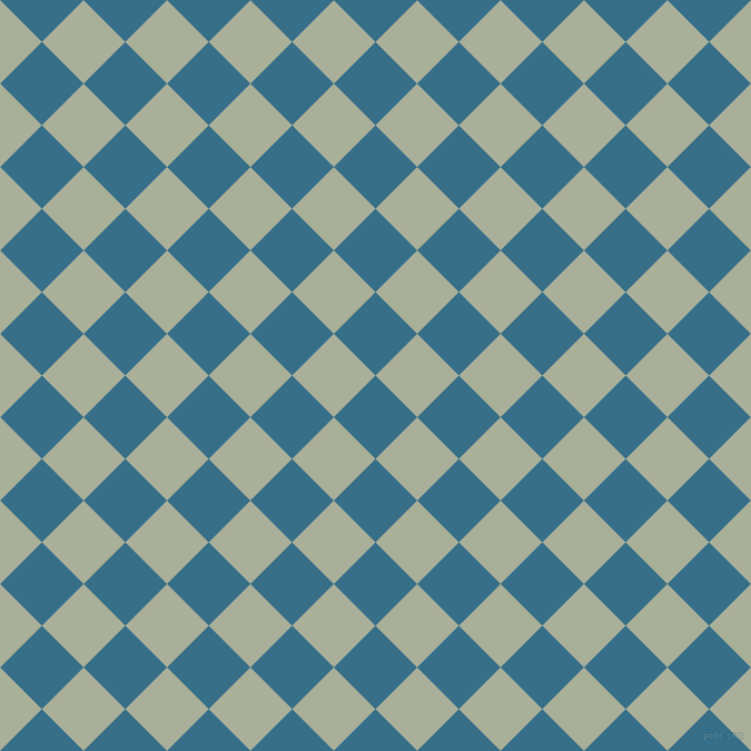45/135 degree angle diagonal checkered chequered squares checker pattern checkers background, 53 pixel squares size, , Astral and Green Spring checkers chequered checkered squares seamless tileable