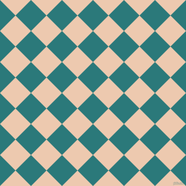 45/135 degree angle diagonal checkered chequered squares checker pattern checkers background, 74 pixel squares size, , Atoll and Desert Sand checkers chequered checkered squares seamless tileable