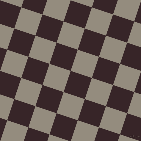 72/162 degree angle diagonal checkered chequered squares checker pattern checkers background, 75 pixel square size, , Aubergine and Heathered Grey checkers chequered checkered squares seamless tileable