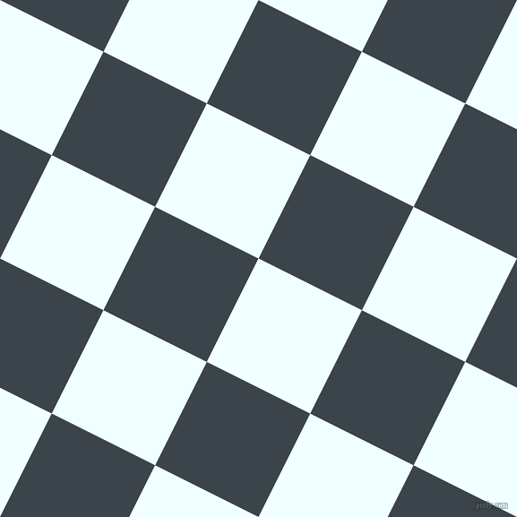 63/153 degree angle diagonal checkered chequered squares checker pattern checkers background, 129 pixel squares size, , Azure and Arsenic checkers chequered checkered squares seamless tileable