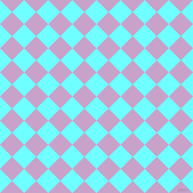 45/135 degree angle diagonal checkered chequered squares checker pattern checkers background, 57 pixel square size, , Baby Blue and Lilac checkers chequered checkered squares seamless tileable