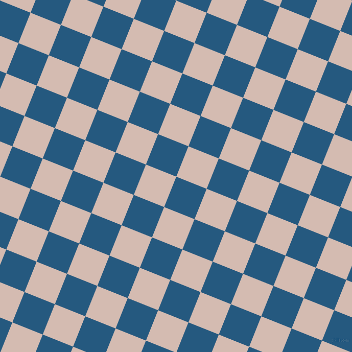 68/158 degree angle diagonal checkered chequered squares checker pattern checkers background, 64 pixel squares size, , Bahama Blue and Wafer checkers chequered checkered squares seamless tileable