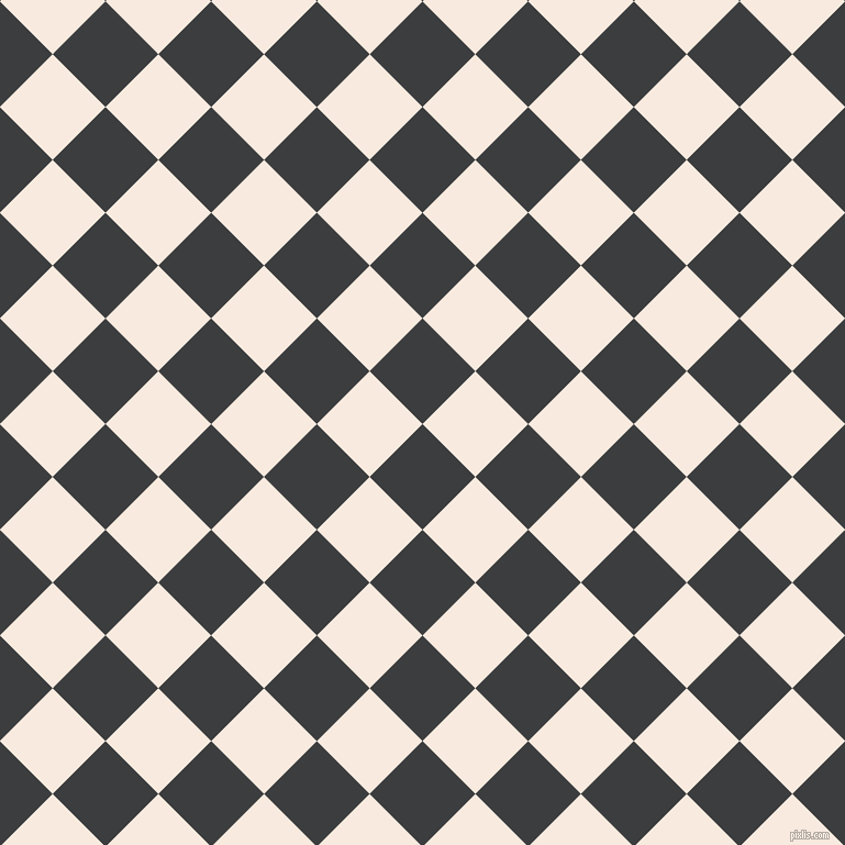 45/135 degree angle diagonal checkered chequered squares checker pattern checkers background, 68 pixel square size, Baltic Sea and Chardon checkers chequered checkered squares seamless tileable