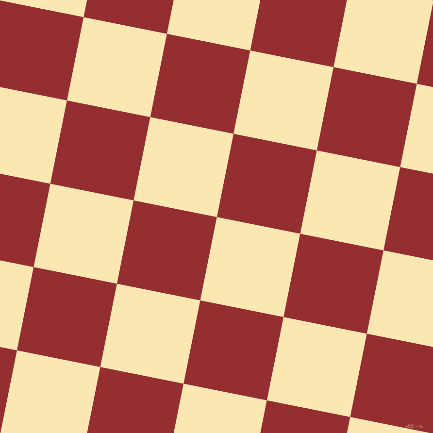 79/169 degree angle diagonal checkered chequered squares checker pattern checkers background, 175 pixel squares size, , Banana Mania and Guardsman Red checkers chequered checkered squares seamless tileable