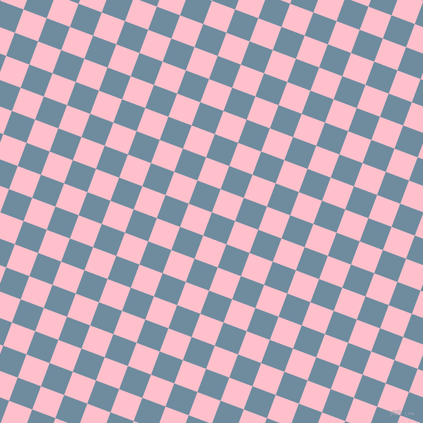69/159 degree angle diagonal checkered chequered squares checker pattern checkers background, 36 pixel squares size, , Bermuda Grey and Pink checkers chequered checkered squares seamless tileable