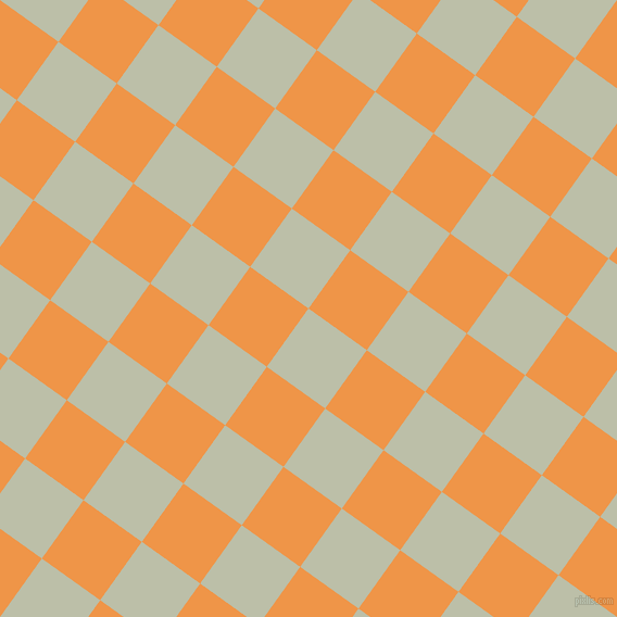 54/144 degree angle diagonal checkered chequered squares checker pattern checkers background, 66 pixel square size, , Beryl Green and Sea Buckthorn checkers chequered checkered squares seamless tileable