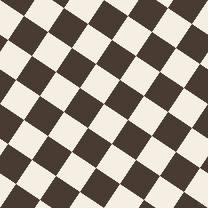 56/146 degree angle diagonal checkered chequered squares checker pattern checkers background, 98 pixel squares size, , Bianca and Taupe checkers chequered checkered squares seamless tileable