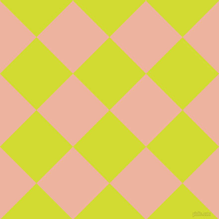 45/135 degree angle diagonal checkered chequered squares checker pattern checkers background, 104 pixel squares size, , Bitter Lemon and Wax Flower checkers chequered checkered squares seamless tileable