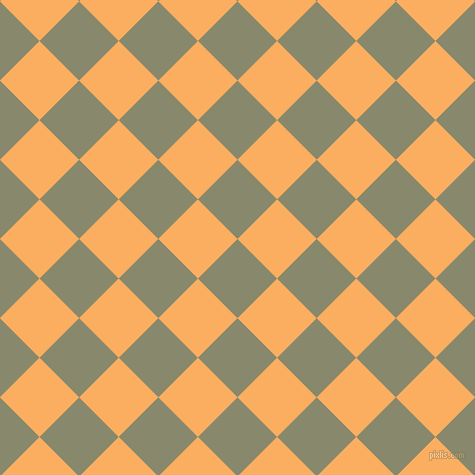 45/135 degree angle diagonal checkered chequered squares checker pattern checkers background, 56 pixel square size, , Bitter and Rajah checkers chequered checkered squares seamless tileable